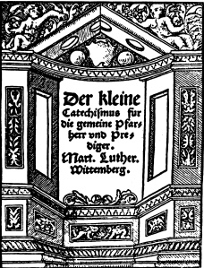 The Small Catechism title page